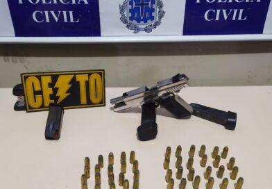 Operação da Polícia prende líder do tráfico e autor de homicídios no Recôncavo da Bahia