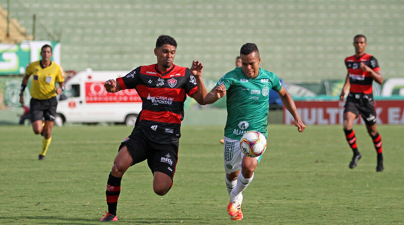 Após seis rodadas sem vencer o Vitória ganha do Guarani e deixa o Z-4