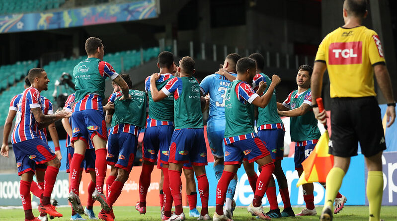 Bahia sai do jejum e bate o Athletico-PR por 1 a 0 na Arena Fonte Nova