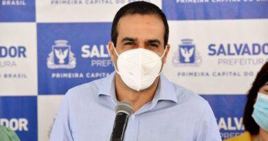 Bruno Reis afirma que Salvador conclui vacinação de pessoas de 60 anos nesta terça