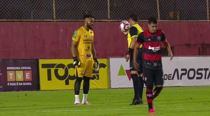 Vitória tem mais posse de bola, mas perde para Doce Mel no Barradão