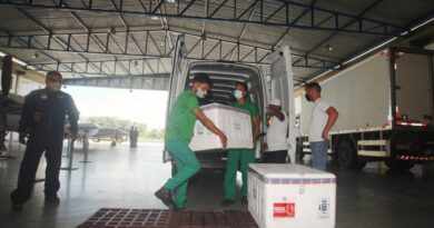 Mais de 60 mil doses da CoronaVac chegam à Bahia