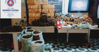 Polícia encontra uma tonelada de maconha em imóvel de Salvador
