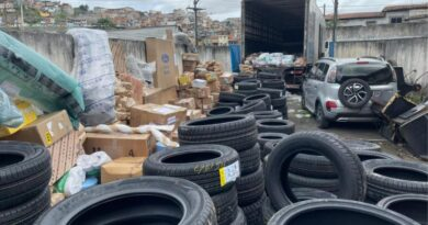 Carga roubada avaliada em R$ 1 milhão é recuperada em Salvador