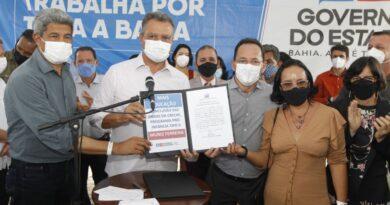 Governo do Estado entrega sistema de abastecimento em Muniz Ferreira