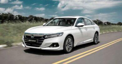 Novo Honda Accord híbrido chega no segundo semestre ao Brasil