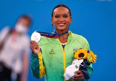 Rebeca Andrade garante o ouro nas Olimpíadas de Tóquio
