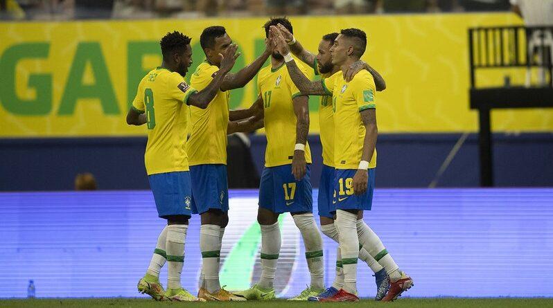 Brasil dá goleada no Uruguai e fica próximo da classificação da copa do Catar