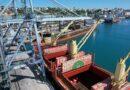 Cerca de 20 mil toneladas de trilhos chegam ao Porto de Salvador para o trecho II da Fiol